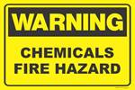 Warning Sign 900 x 600mm